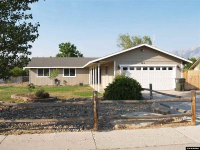 Gardnerville Single Family Home Active/Pending-Loan: 782 Hornet Drive