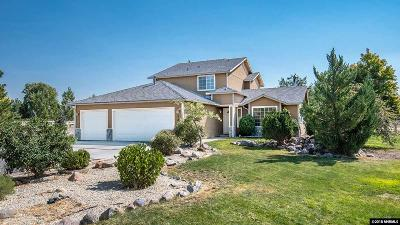 Gardnerville Single Family Home Active/Pending-House: 721 Cutter Lane