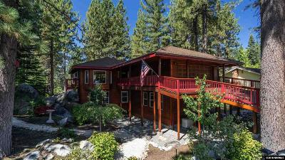 Zephyr Cove NV Single Family Home For Sale: $1,400,000