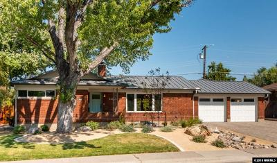 Reno Single Family Home Active/Pending-Loan: 940 Robin