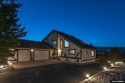 Reno Single Family Home For Sale: 4196 Plateau Ct