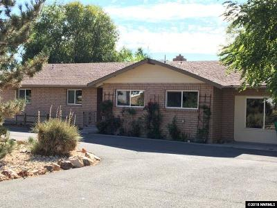 Washoe County Single Family Home For Sale: 14675 Chamy Drive