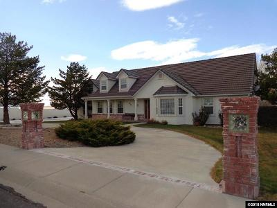 Winnemucca Single Family Home Extended: 4198 Two Rock