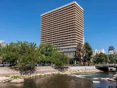 Washoe County Condo/Townhouse For Sale: 100 N Arlington Ave. #5-G