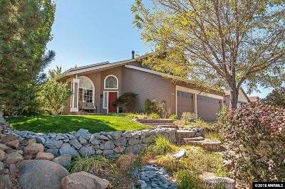 Reno Single Family Home For Sale: 15506 Quicksilver