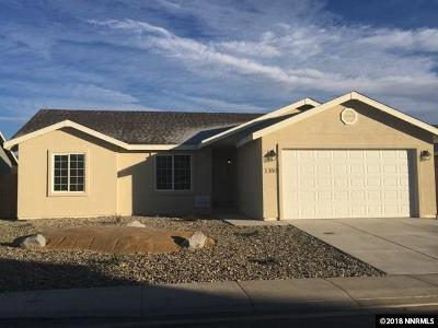 Fernley Single Family Home For Sale: 1360 Shadow Lane