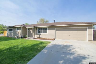 Carson City Single Family Home For Sale: 3034 Bowers Lane