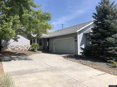Carson City Single Family Home Active/Pending-Call: 3592 Haystack Dr