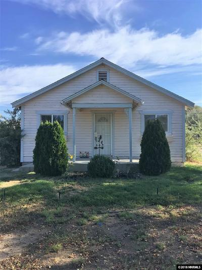Washoe Valley NV Single Family Home Active/Pending-House: $280,000