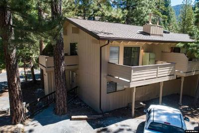 Incline Village Condo/Townhouse Active/Pending-Loan: 321 Ski Way #225