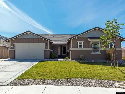 Reno Single Family Home For Sale: 3000 Bull Rider Drive
