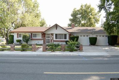 Sparks Single Family Home Active/Pending-Loan: 1015 York Way