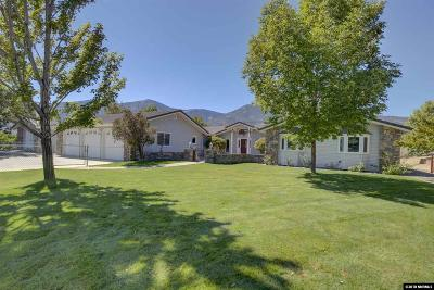 Carson City Single Family Home Active/Pending-Loan: 3450 Alpine View Ct.