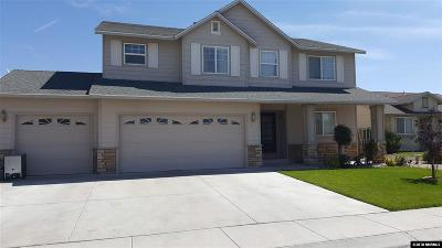 Fernley Single Family Home For Sale: 1605 Burger Road