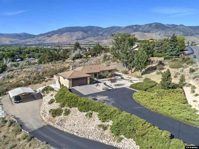 Carson City Single Family Home For Sale: 649 E Bonanza Drive