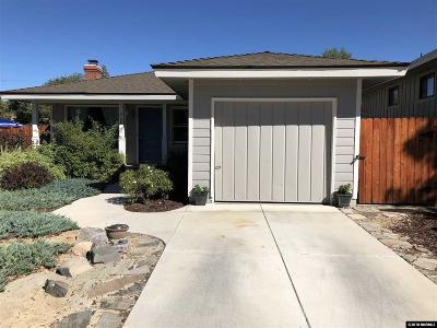 Reno Single Family Home For Sale: 265 Hillcrest Dr.