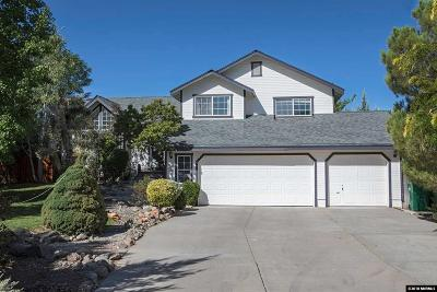Washoe County Single Family Home Active/Pending-Loan: 15185 Sylvester Road