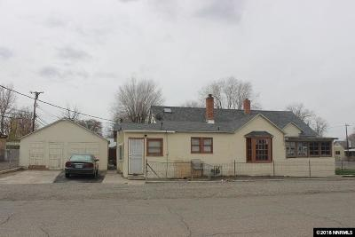 Winnemucca Single Family Home For Sale: 303 W Sixth St.