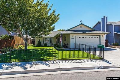 Carson City Single Family Home For Sale: 1845 Rankin Drive