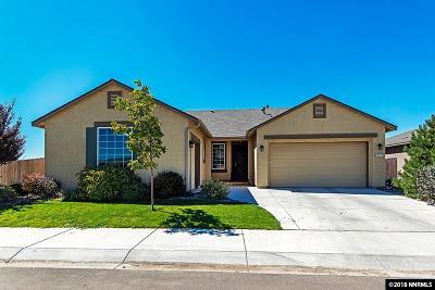 Gardnerville Single Family Home Active/Pending-House: 1217 Lasso Lane