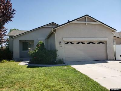 Sparks Single Family Home For Sale: 5782 Sonora Pass Drive