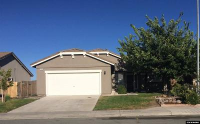 Fernley Single Family Home For Sale: 1765 Walnut Drive