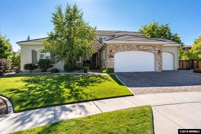 Reno Single Family Home For Sale: 8494 Fairway Chase