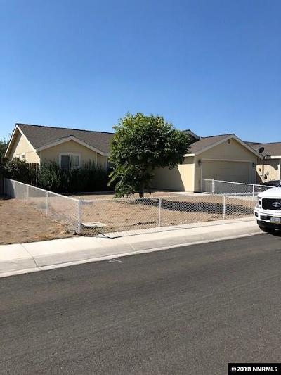 Fernley Single Family Home For Sale: 337 Garden Lane