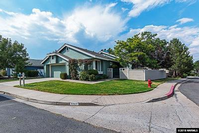 Reno Single Family Home For Sale: 3307 Current