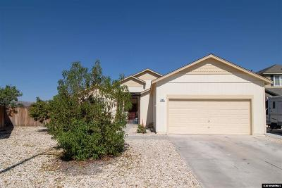 Fernley Single Family Home For Sale: 545 Quietwood Ct.