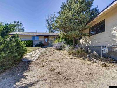 Carson City Single Family Home For Sale: 3654 Cindy's Trail