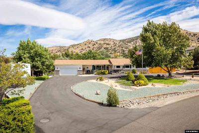 Reno Single Family Home Active/Pending-House: 13990 Rim Rock Drive