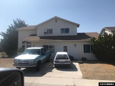 Fernley Single Family Home For Sale: 101 Double Eagle Drive