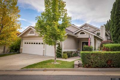Reno Single Family Home Active/Pending-Call: 6198 Carriage House Way