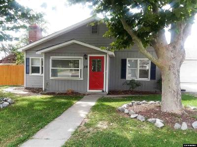 Yerington Single Family Home Active/Pending-Loan: 19 N West
