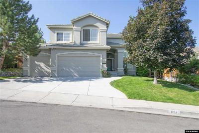 Reno Single Family Home For Sale: 4775 Cougarcreek Trail