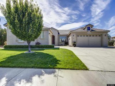 Sparks Single Family Home Active/Pending-Loan: 3940 Desert Fox Dr