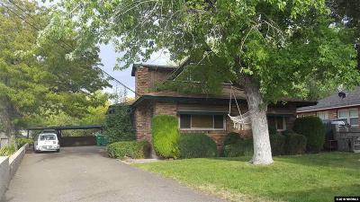 Reno Single Family Home For Sale: 990 Hunter Lake Drive