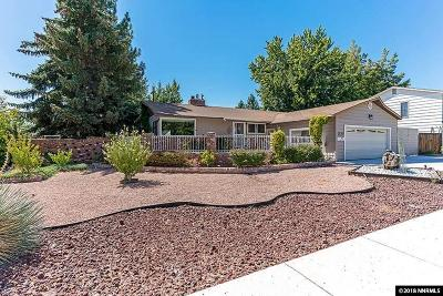 Reno NV Single Family Home Back On Market: $360,000