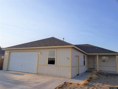 Fallon Single Family Home Active/Pending-Loan: 729 Megan Way