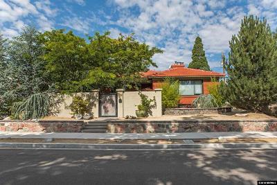 Reno Single Family Home For Sale: 303 Bret Harte Avenue