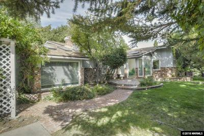 Reno, Sparks, Carson City, Gardnerville Single Family Home For Sale: 4937 Idlewild