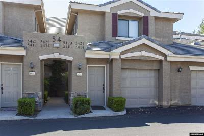 Reno Condo/Townhouse For Sale: 900 S Meadows Parkway #5423