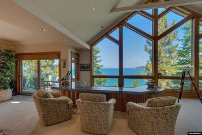Zephyr Cove NV Single Family Home For Sale: $6,850,000