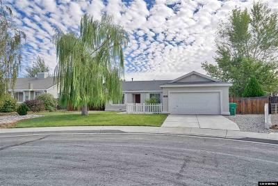 Fernley Single Family Home For Sale: 1531 Picetti Court