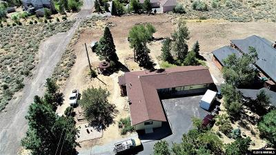 Reno Single Family Home For Sale: 15985 Thompson Lane