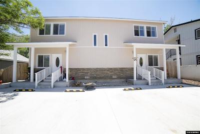Reno Multi Family Home For Sale: 125/123/122 Caliente