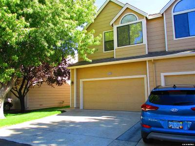 Reno Condo/Townhouse For Sale: 4078 Snowshoe Ln.
