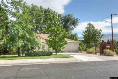 Reno Single Family Home For Sale: 2090 Lassen Drive