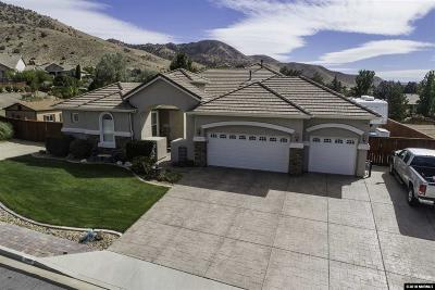 Reno Single Family Home For Sale: 2980 Man Of War Drive